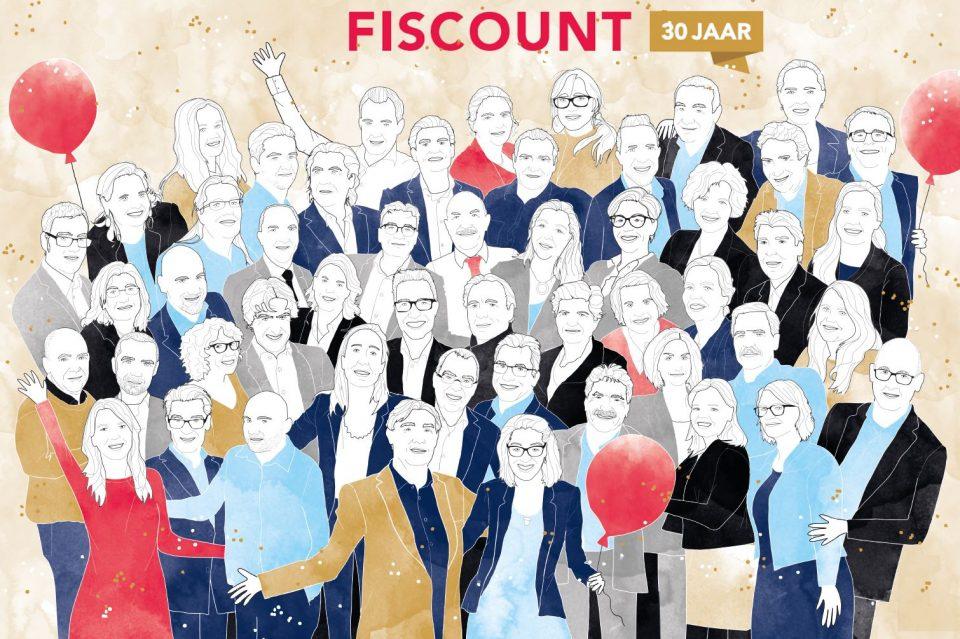 Team Fiscount jubileum