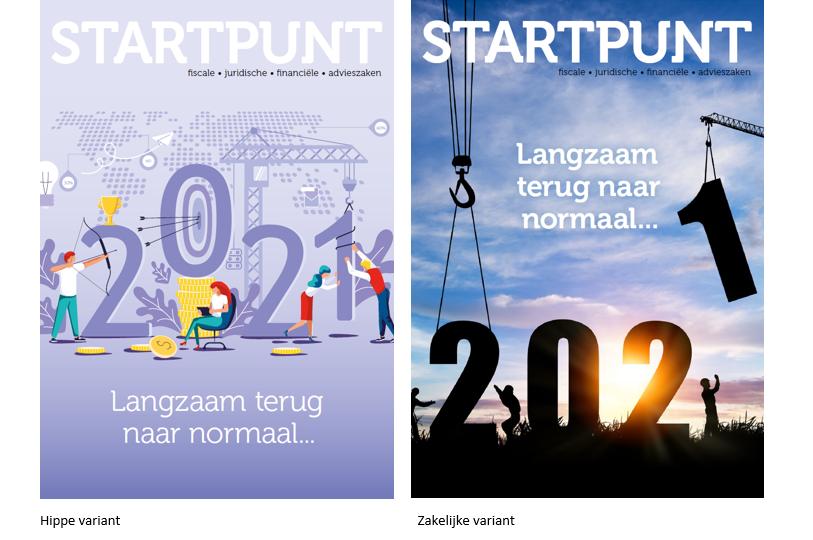 Startpunt 2021 hip en zakelijke